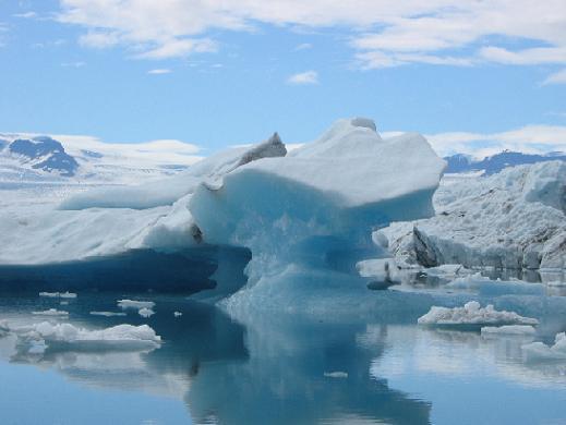 Topniejące lodowce